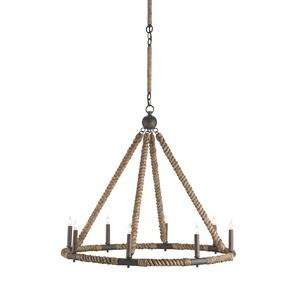 Bowline - Eight Light Chandelier