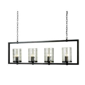 Longhope - 12 Light Rectangular Chandelier
