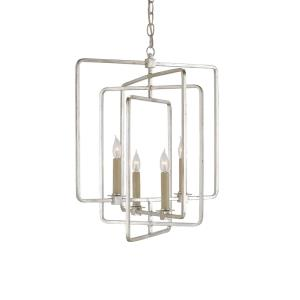 Metro - Four Light Square Chandelier
