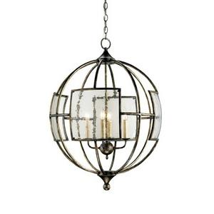 Broxton - 4 Light Orb Chandelier