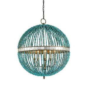Alberto Orb - Five Light Chandelier