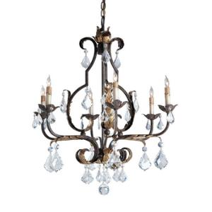 6 Light Tuscan Chandelier