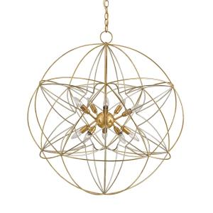 Zenda - 10 Light Orb Chandelier