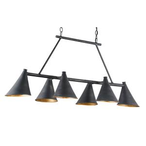 Culpepper - Six Light Rectangular Chandelier
