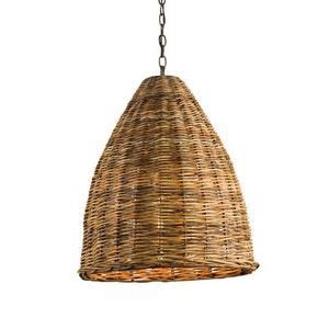 Basket - 1 Light Pendant