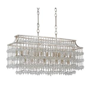 Rainhill - Seventeen Light Rectangular Chandelier