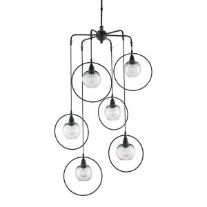 Moorsgate - Six Light Pendant