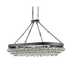 Balthazar - Six Light Oval Chandelier