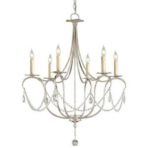 Crystal - Six Light Small Chandelier