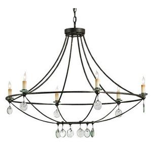 Novella - Six Light Chandelier