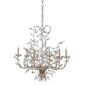 Crystal Bud - 6 Light Medium Chandelier