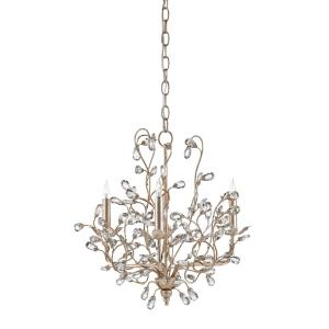 Crystal Bud - Three Light Small Chandelier