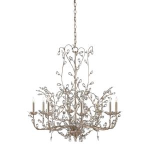 Crystal Bud - Eight Light Large Chandelier