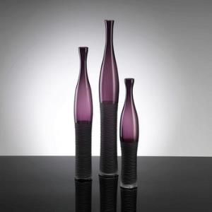 """23"""" Large Chiseled Bottle Vase"""