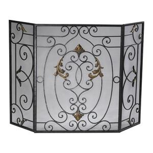 50 Inch Franch Fire Screen