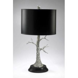 Silver Tree - Two Light Table Lamp