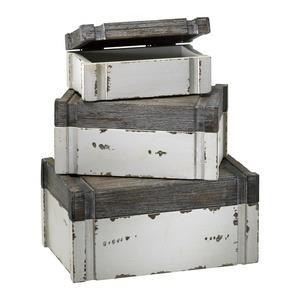 10 Inch Alder Box - Set of 3
