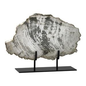 15 Inch Large Petrified Wood on Stand