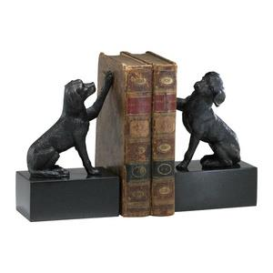 8 Inch Dog Bookend - Set of 2