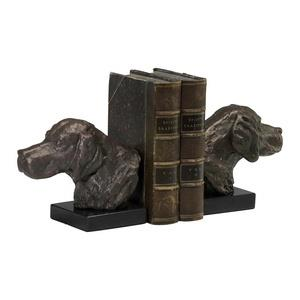 7 Inch Hound Dog Bookend - Set of 2