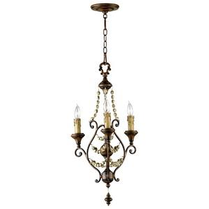 Meriel - Three Light Chandelier