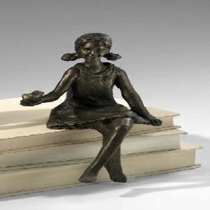 8 Inch Girl Shelf Figurine
