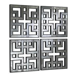 Akari 35 Inch Mirror Panel - Set of 2