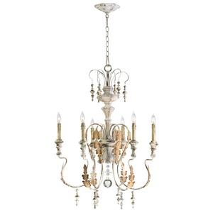 Motivo - Six Light Chandelier