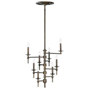 Omega - Eight Light Chandelier
