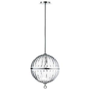 Janus - One Light Large Globe Pendant
