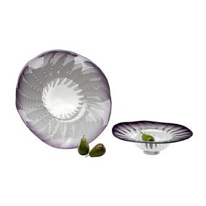 24.5 Inch Large Art Glass Bowl