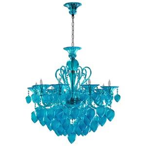 Bella Vetro - Eight Light Chandelier