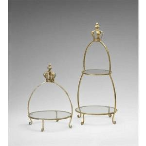 Crowned - 13 Inch 13 Inch 2 - Tier Stand