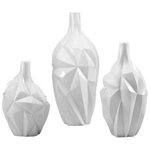 Glacier - 9 Inch Large Vase