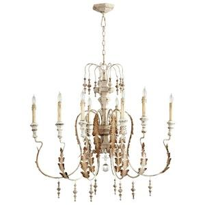 Motivo - Eight Light Small Chandelier