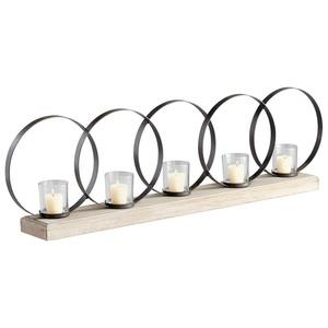 Ohhh - 39.75 Inch Small Five Candleholder