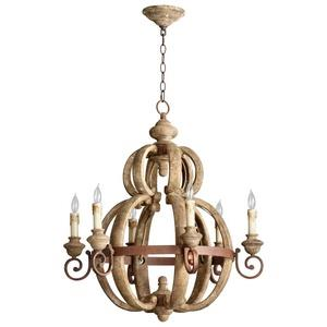 Atocha - Six Light Small Chandelier