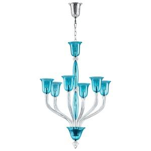 Vetrai - Six Light Small Chandelier