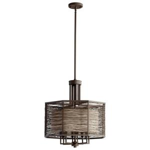 Pascal - Eight Light Small Chandelier