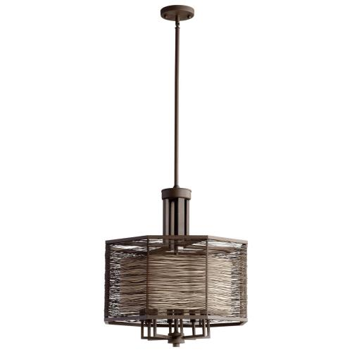 Cyan lighting 05718 Pascal - Eight Light Small Chandelier - 22 Inches Wide by 26 Inches High