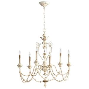 Florine - Six Light Chandelier