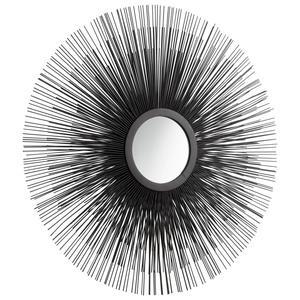 Triple Solar Flare - 24.5 Inch Decorative Mirror