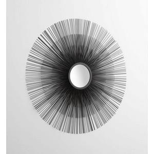 Double Solar Flare - 37 Inch Decorative Mirror