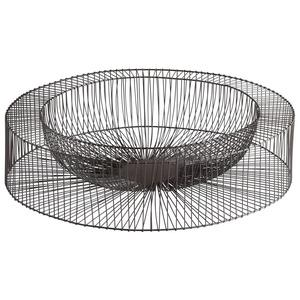Wire Wheel - 21 Inch Large Decorative Tray