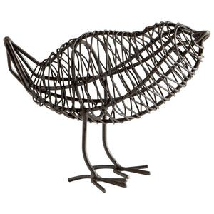 Bird On A Wire - 2 Inch Small Decorative Sculpture
