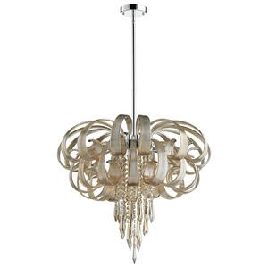 Cindy Lou Who - Ten Light Chandelier
