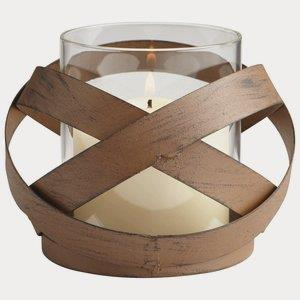 Infinity - 4 Inch Small Candleholder