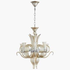Juliana -Six Light Chandelier