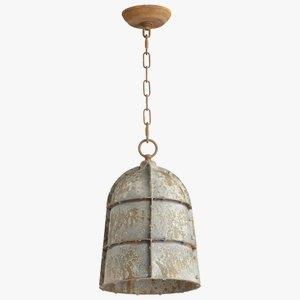 Rusto - One Light Large Pendant
