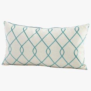 "Chain Link - 24"" Pillow"